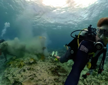 The Challenges of Coral Restoration - 360bubble GoPro Fusion Underwater Housing